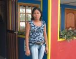 Mayra en Isla Colón