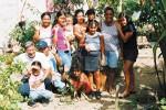 Jose Luis Zuñiga y familia